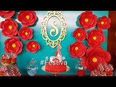 Decoracion Fiesta inspirada en Elena de Avalor - Elena of Avalor Party | Festiva - YouTube