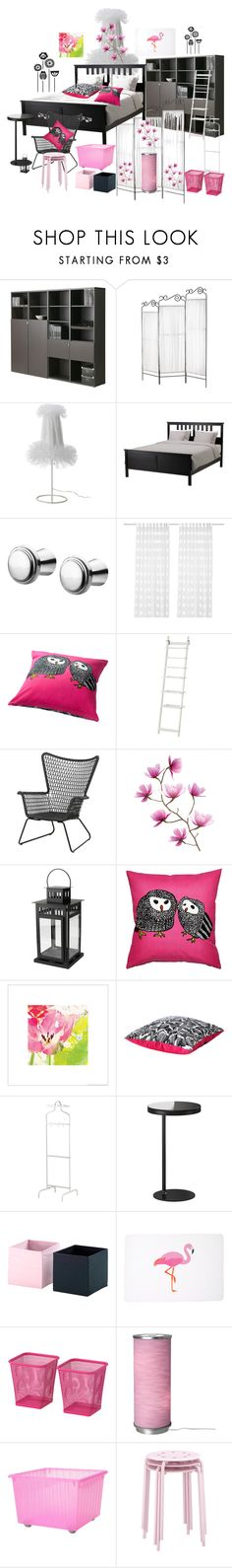 IKEA by ragnhild-bergan on Polyvore featuring interior, interiors, interior design, home, home decor, interior decorating and Black Poppy