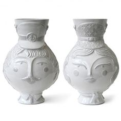 Jonathan Adler Utopia Cap'n & Stewardess vase