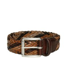 83d44424e9b Anderson s woven leather belt