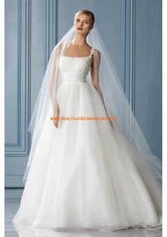 Neue schöne Brautmode berlin kaufen aus Organza und Satin A-Linie mit Schleppe