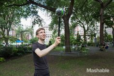 Ball-shaped camera could put 360° photography on the map