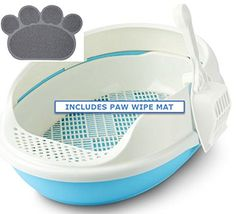 CatIdea Oval Sifting Cat Litter Box. CL6 *** Be sure to check out this awesome product. (This is an affiliate link and I receive a commission for the sales)