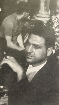 Rare picture of Dominick Cirillo, high ranking Genovese family mobster. Cirillo at one time was acting boss and later the consigliere of the family.