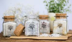 Natural Bath Salt by Whispering Willow Soap Company. American Made. See the designer's work at the 2016 American Made Show, Washington DC. January 15-17, 2016. americanmadeshow.com #americanmade, #americanmadeshow, #bathsalt