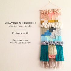 Weaving workshop with Maryanne Moodie