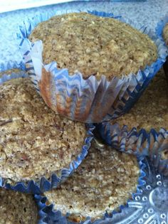 Apple oat muffins - Fit and Healthy with Debbie www.debbiereichertfitness.com