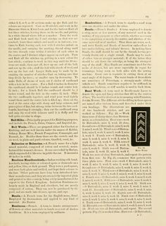 The dictionary of needlework : an encyclopædia ...