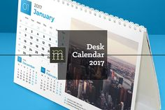 awesome Desk Calendar 2017 (DC10)  #business #calendar #CALENDAR2017 #calender #company #contact #cover #day #design #desk #editable #event #flat #indesign #INFORMATION #line #logo #monday #month #monthly #notes #office #page #photo #PLANNER2017 #print #promotion #red #shadow #stationery #sunday #template #thin #week #weekday #year