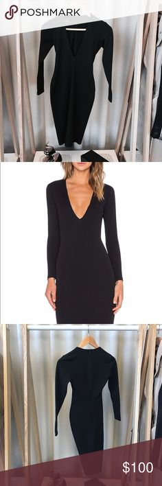 NOOKIE Long Sleeve Bombshell Dress Great condition. AUS size 8 which is a US 4. Purchased from Revolve. revolve Dresses Long Sleeve