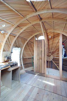 The Exbury Egg Floating House