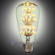 Úspora pri použití LED žiaroviek sa vám navráti do 2 rokov. Vďaka svojej dekoračnej žiare, vyžaruje rustikálne kúzlo ako žiadna iná žiarovka. FIREWORKS žiarovka je rustikálneho vzhľadu a poskytuje krásne kultivované svetlo s perfektnou reprezentáciou farieb. Žiarovka dokáže vykúzliť fantastické osvetlenie pre zlepšenie nálady