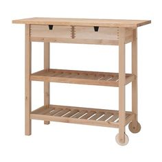 forhoja-kitchen-cart_Ikea, good start for a potting bench