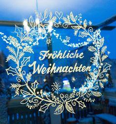Zauberhafte Fensterdeko | Weihnachtliche Fensterdeko/Fensterbilder: Vorlagen von TOPP