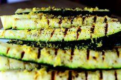 Grilled zucchini!