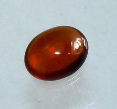 7x9 mm Natural Hessonite Garnet Oval Cabochon / by RareGemsNJewels