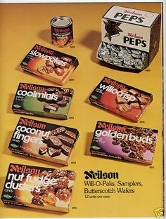 Flooding memories of my Gram and the sudden urge to run out for willowcrisp ASAP