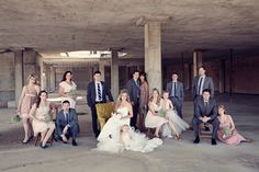 Some Cool Photos of Bridesmaids and Groomsmen