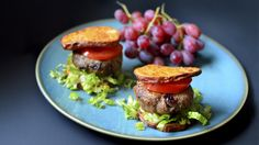 Paleo Cranberry Turkey Burger & Sweet Potato Buns