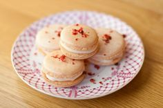 Pink Peppercorn Macarons with White Chocolate Grapefruit Ganache II The Hungry Muse