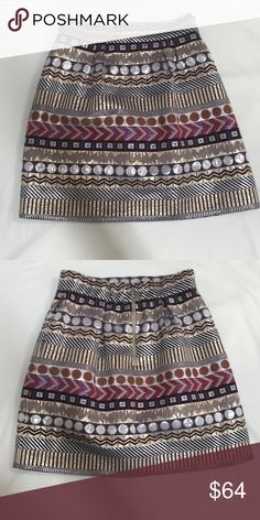 Shop Women's Anthropologie size 8 Mini at a discounted price at Poshmark. Silver zipper on back. Boho Shorts, Anthropologie, Mini Skirts, Zipper, Best Deals, Cute, Closet, Things To Sell, Style