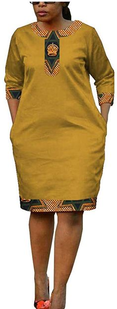 African Ankara Print Women Casual Pencil Dress Tailor Made Half Sleeve Knee Leng. - African Ankara Print Women Casual Pencil Dress Tailor Made Half Sleeve Knee Leng Source by - Best African Dresses, Latest African Fashion Dresses, African Print Fashion, African Attire, African Fashion Traditional, African Print Dress Designs, Kitenge, Pencil Dress, Birthday