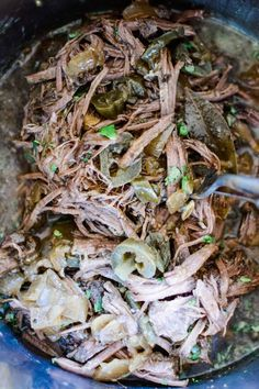 Mexican Shredded Beef for tacos, gorditas, tostadas, and more! With stove top, slow cooker, and Instant Pot instructions included. This recipe for Mexican Shredded Beef is the perfect thing when the weather is starting to turn and you're ready for a warming dinner, or when you want to cook once and eat all week long. Gluten-free and super kid-friendly. A big plate of beef tacos is really hard to beat! #shreddedbeef #beeftacos #Mexicanshreddedbeef #tacos