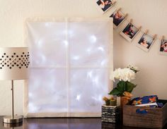 Create a Wintery LED Window for Your Home