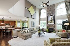 k hovnanian colorado pictures - Bing Images | 2 Story Family Room ...