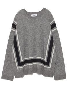 ラインデザインウールワイドニット(ニット)|Mila Owen(ミラ オーウェン)|ファッション通販|ウサギオンライン公式通販サイト
