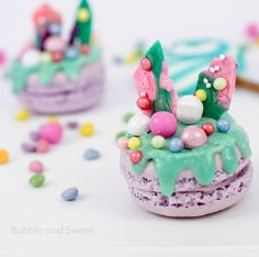 Katherine sabbath inspired macaron tinted pink candylicious pretty pastel rainbow unicorn food