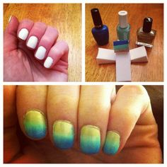 Ombre Mani - how to