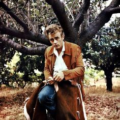Rare colored photo of James Dean