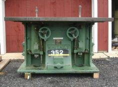 Baxter D. Whitney & Son, Inc. - No. 91 Double Spindle Shaper