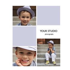Blog Board Template  16x20 Print Collage Template by easyphotoshop