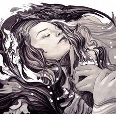 A beautiful piece of work by illustrator Nimit Malavia. http://nimitmalavia.com/