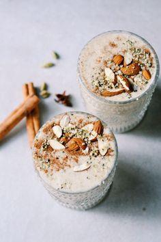 Vanilla Spiced Breakfast Smoothies