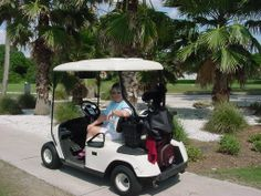 Ileen at Bobby Jones Golf Course, Sarasota 2003