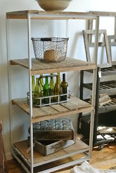 DIY:   How to Make Pallet Wood Look Like Barn Wood - via Brookline Street Studio