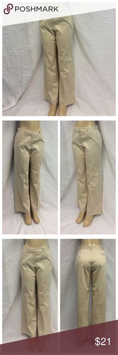 """THE LIMITED LADIES PANTS THE LIMITED LADIES PANTS, Size 10, 64% cotton, 34% nylon, 2% spandex, dry clean. Approximate measurements are 15 1/2"""" waist laying flat, 41"""" waist to hem, 31"""" inseam, 11"""" waist to crotch, 5 1/2"""" zipper. 0412 The Limited Pants"""