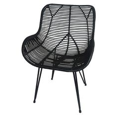 Wicker Accent Chair - Black - Threshold™ : Target. $99