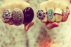 I looove big rings!