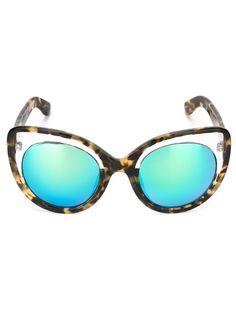 Linda Farrow Cat Eye Sunglasses - Stefania Mode - Farfetch.com