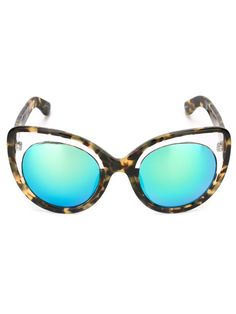 Linda Farrow Cat Eye Sunglasses - Stefania Mode - Farfetch.com