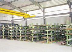 Kragarmregale mit Traglast bis 2000 kg