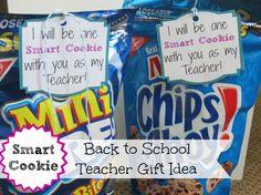 smart cookie - cute teacher gift