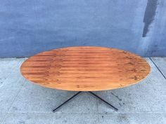 Florence Knoll table in Brazillian Rosewood