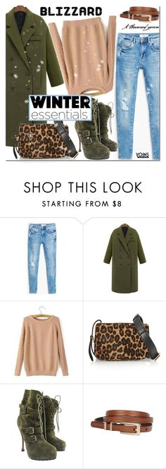 """""""Brrrrr! Winter Blizzard"""" by mada-malureanu ❤ liked on Polyvore featuring MANGO, Tamara Mellon, Brian Atwood and blizzard"""