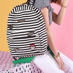 Stripes & patches  La mejor combinación  ¿Se la comprarías a tu #BFF?  #itswishingtime #xmastime #todomoda