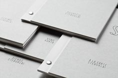 Self promotion idea. Use a simple screw fastener when assembling a document/report/promo. It's cheap and effective.